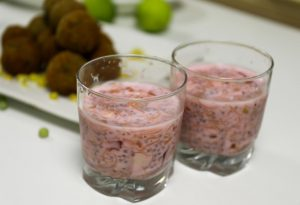 Chocolate falooda