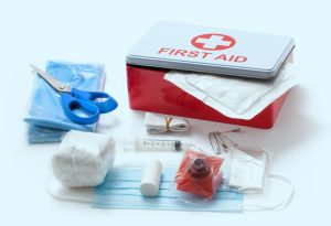 Always Keep a First Aid Kit Easily Accessible