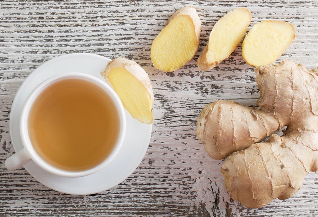 Ginger Tea Intake during Pregnancy: Health Benefits & Side
