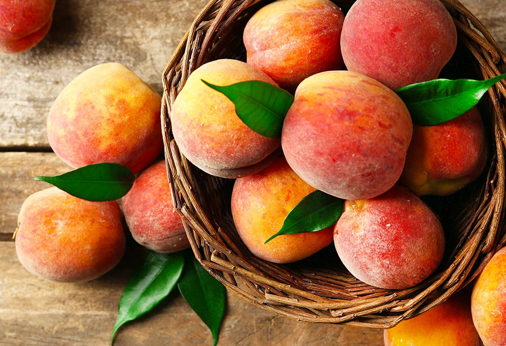 Eating Peaches during Pregnancy: Health Benefits & Side-effects