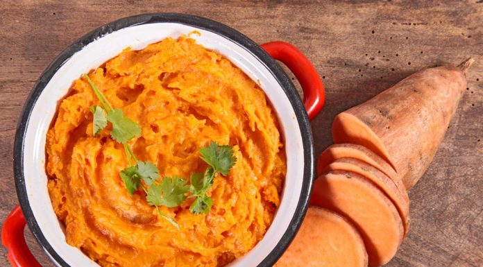 Sweet Potatoes Mashed