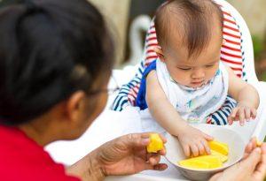 Mango good for baby's skin