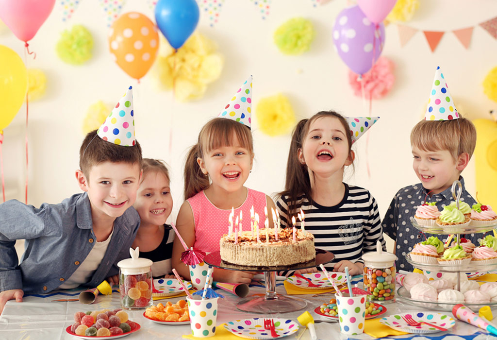 40 Creative Birthday Party Ideas for Kids (1 to 8 Years Old)