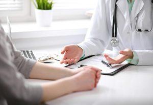 VISIT A DOCTOR IF SYMPTOMS WORSEN