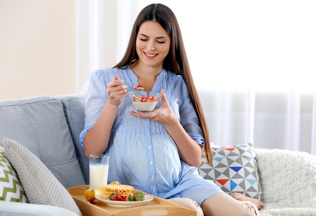 गर्भधारणेच्या नवव्या महिन्यातील आहार (३३-३६ आठवङे)