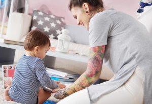Can Breastfeeding Moms Get a Tattoo?