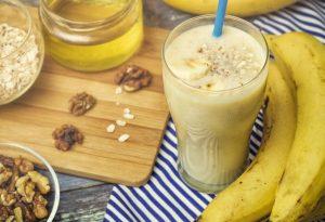 Banana Walnut Milkshake