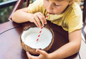 INCLUDE COCONUT MILK FOR YOUR LITTLE ONE