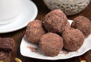 Chocolate laddu