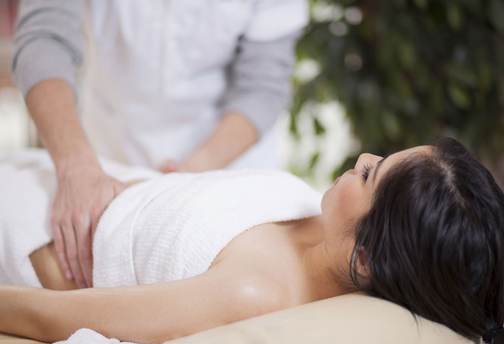 Post Natal Massage After C-Section Delivery: Benefits