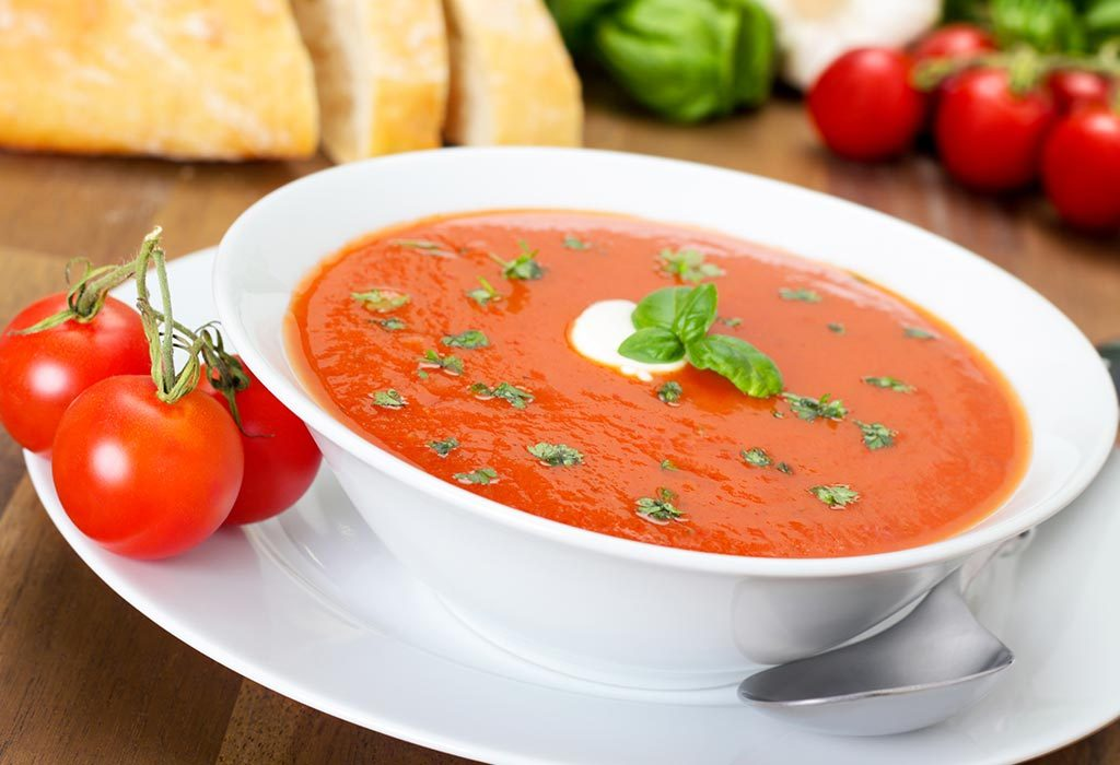 How to Make Tomato Soup for Babies
