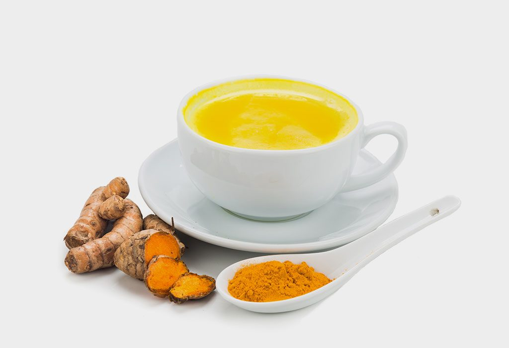 Turmeric Milk: Cough Remedies for Kids at Night