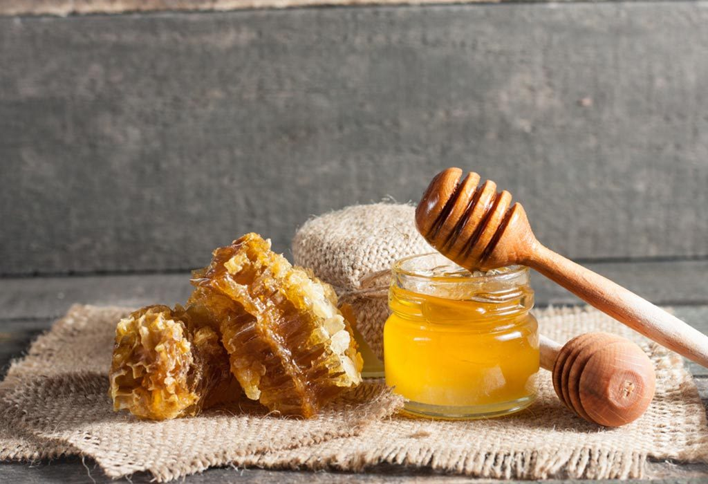 Honey for canker