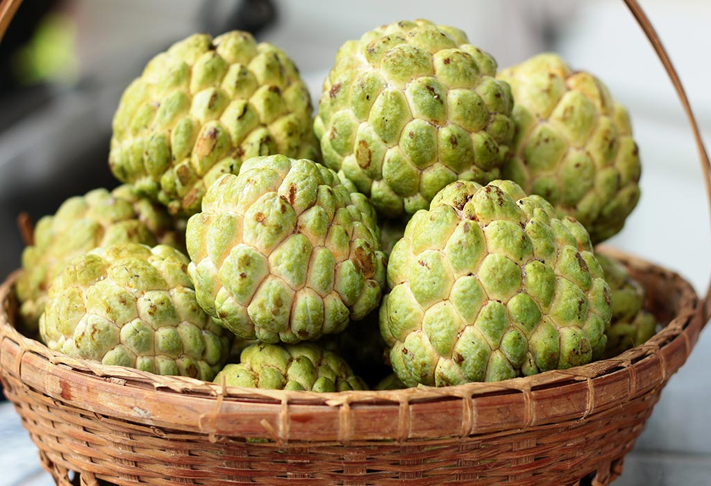 Custard Apple (Sitaphal) during Pregnancy: Health Benefits & Recipes