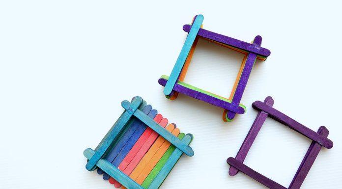 Ice-cream stick crafts