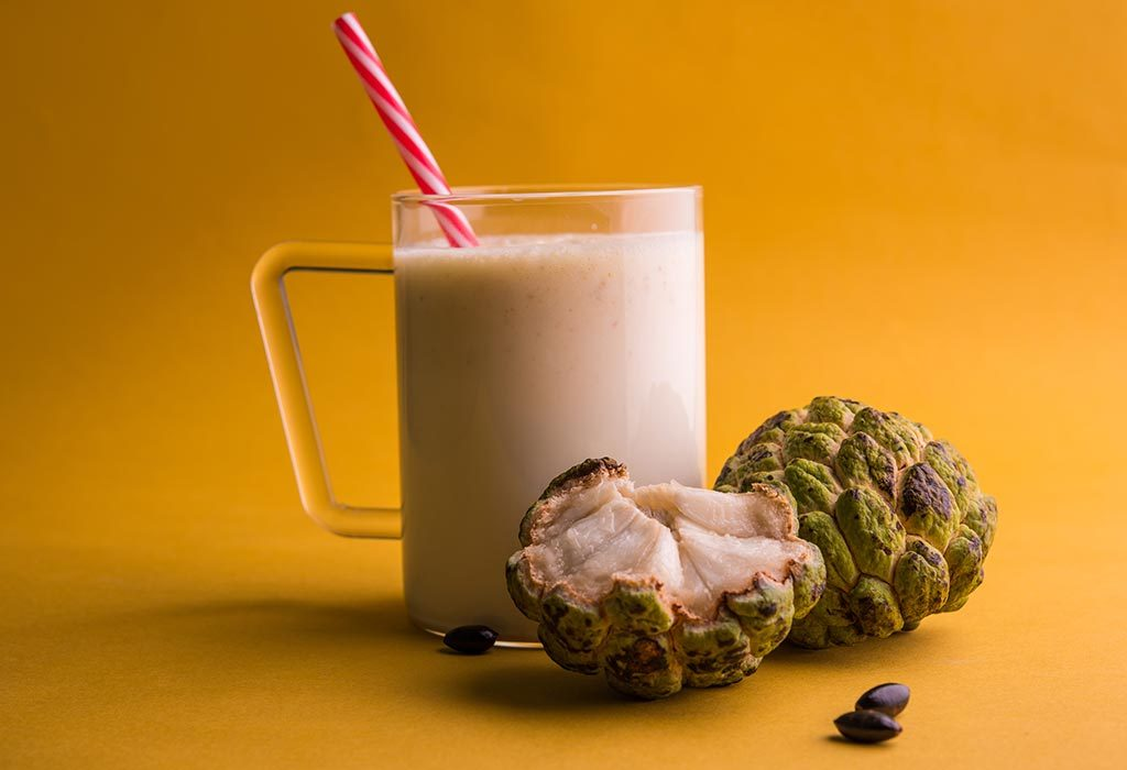 Custard Apple Smoothie
