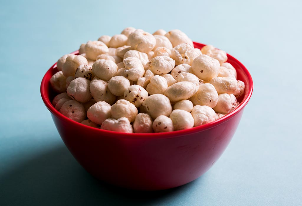 Makhana Lotus Seeds In Pregnancy Nutritional Value