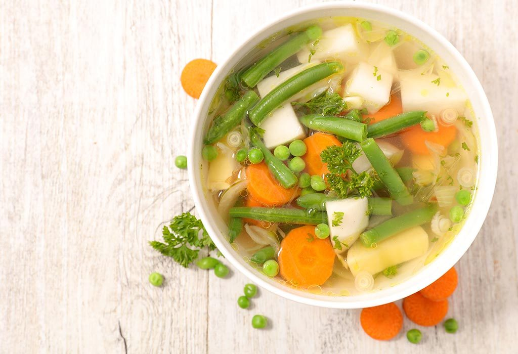 Mixed Vegetable Soup.