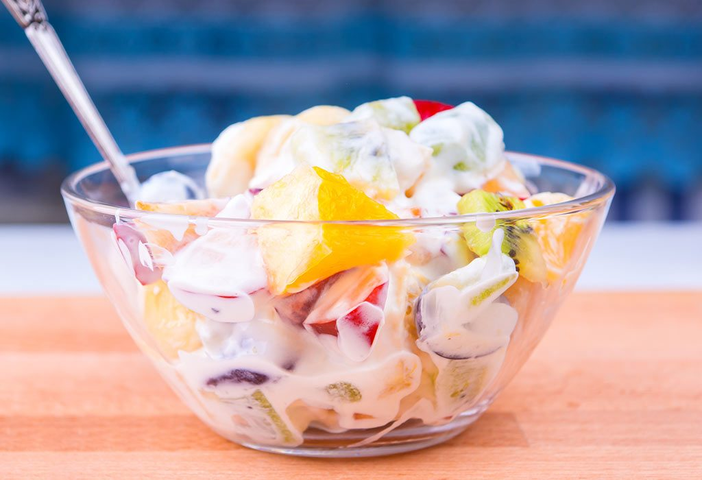 YOGHURT BASED FRUIT SALAD
