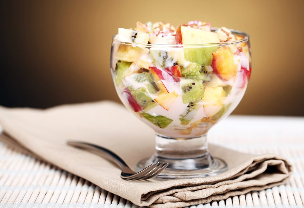 JUICY AND PLEASANT FRUIT SALAD