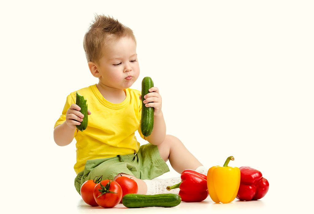 TODDLER AND VEGGIES
