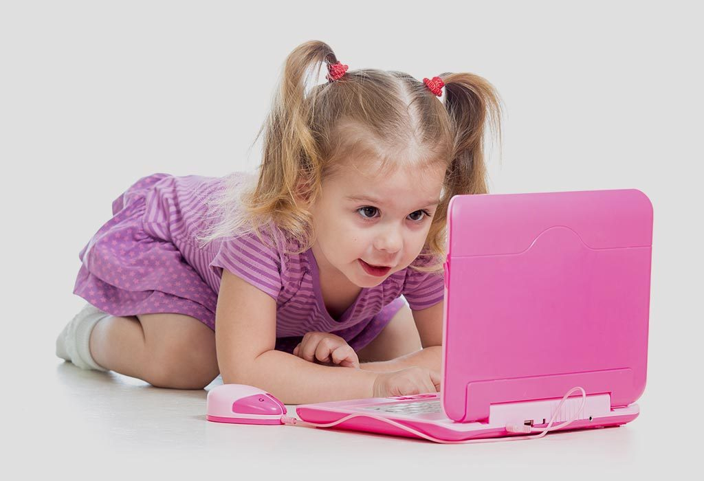 Toy laptop for kids