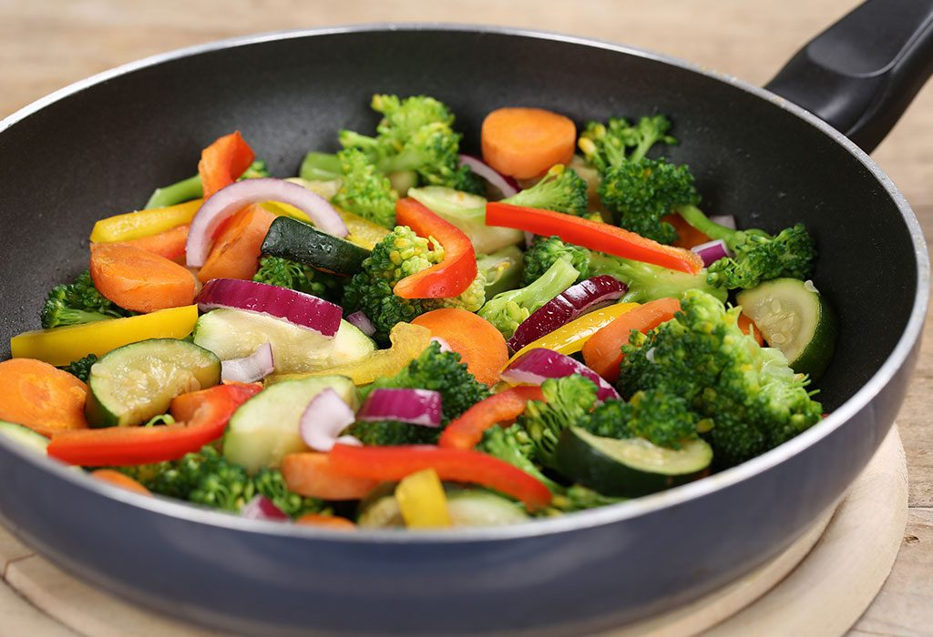 PAN FRIED VEGGIES