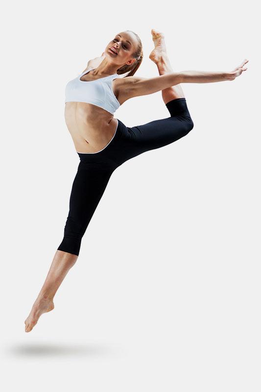 Jumping pose