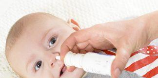 Nasal spray for baby