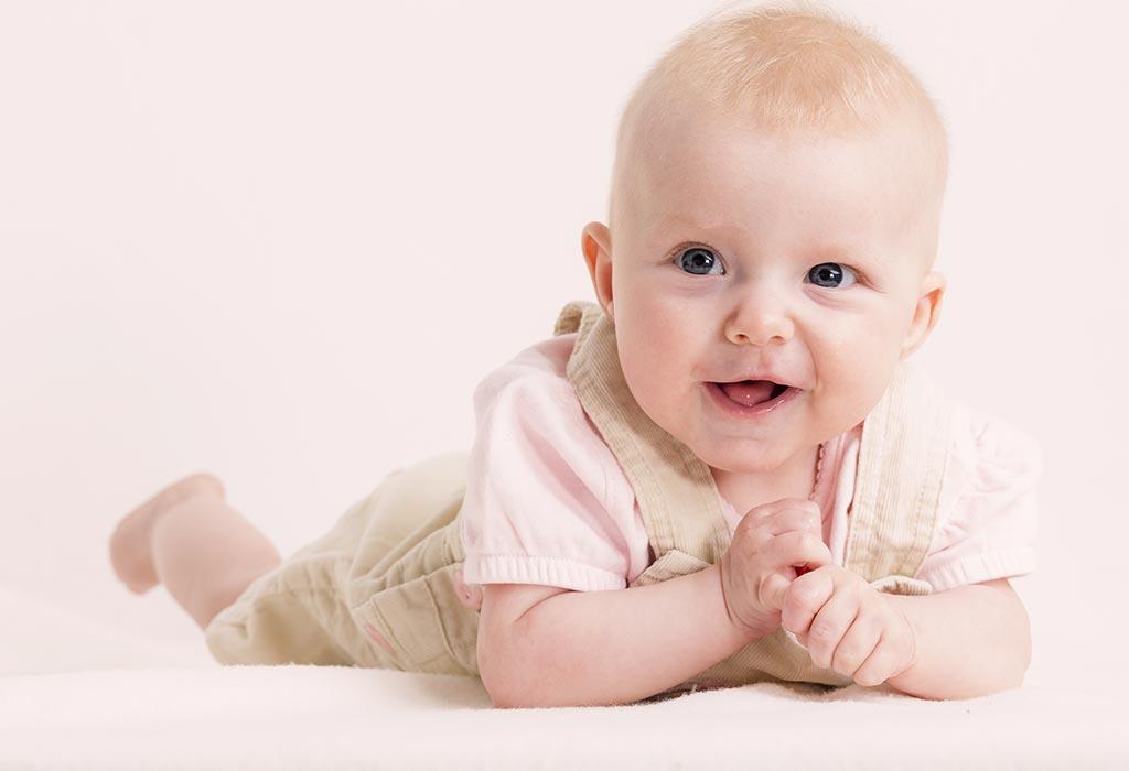 १५ सप्ताह के बच्चे का विकास