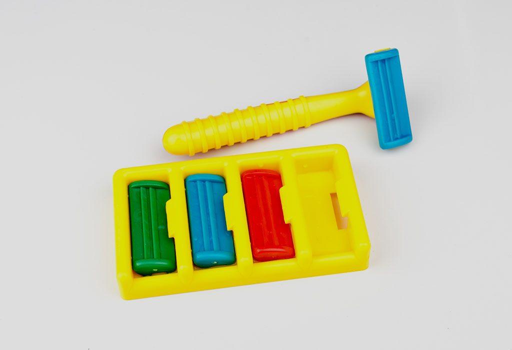 A Kiddie Shaving Kit