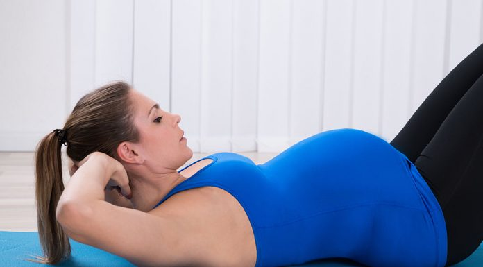 Doing Sit-Ups or Abdominal Crunches during Pregnancy - Is It Safe?