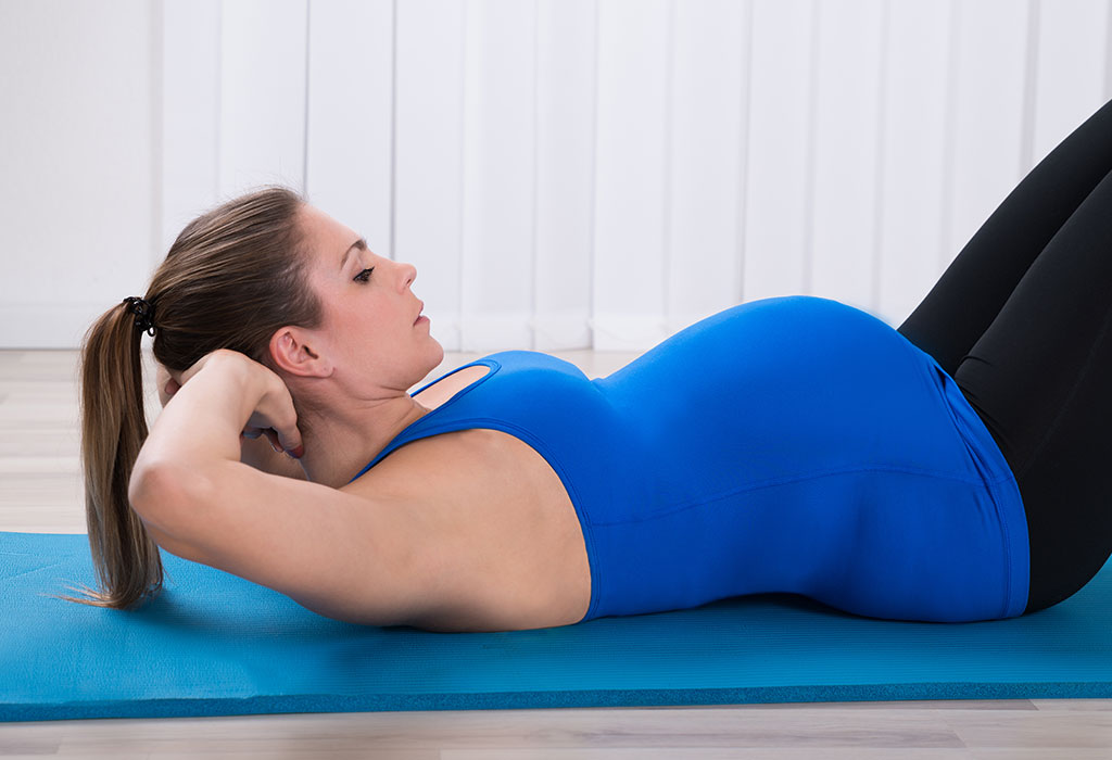 How To Perform Sit Ups Crunches During Pregnancy