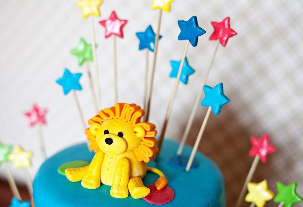 A Lion Cake