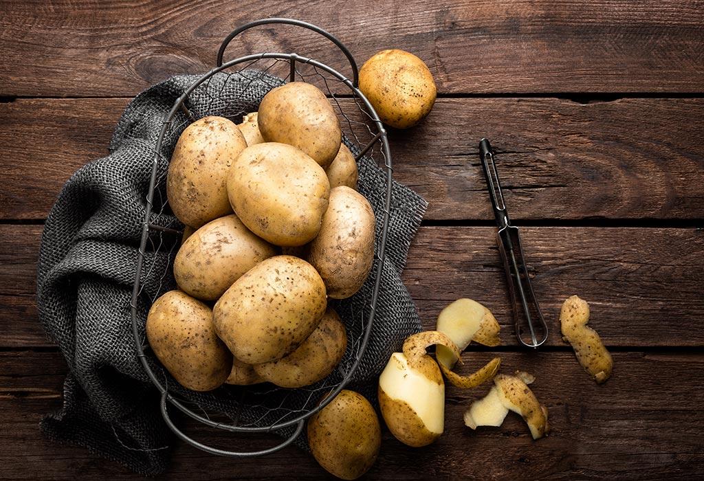 काही बटाट्याचे काप वापरा