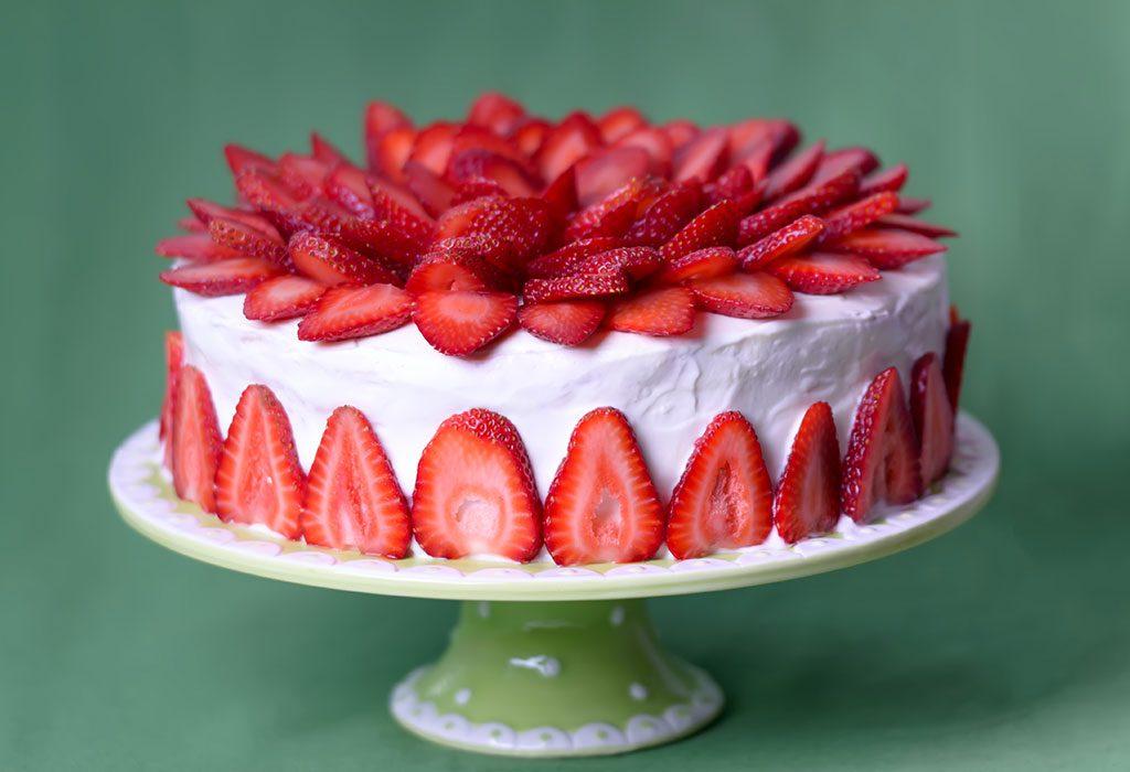 A Strawberry Cake