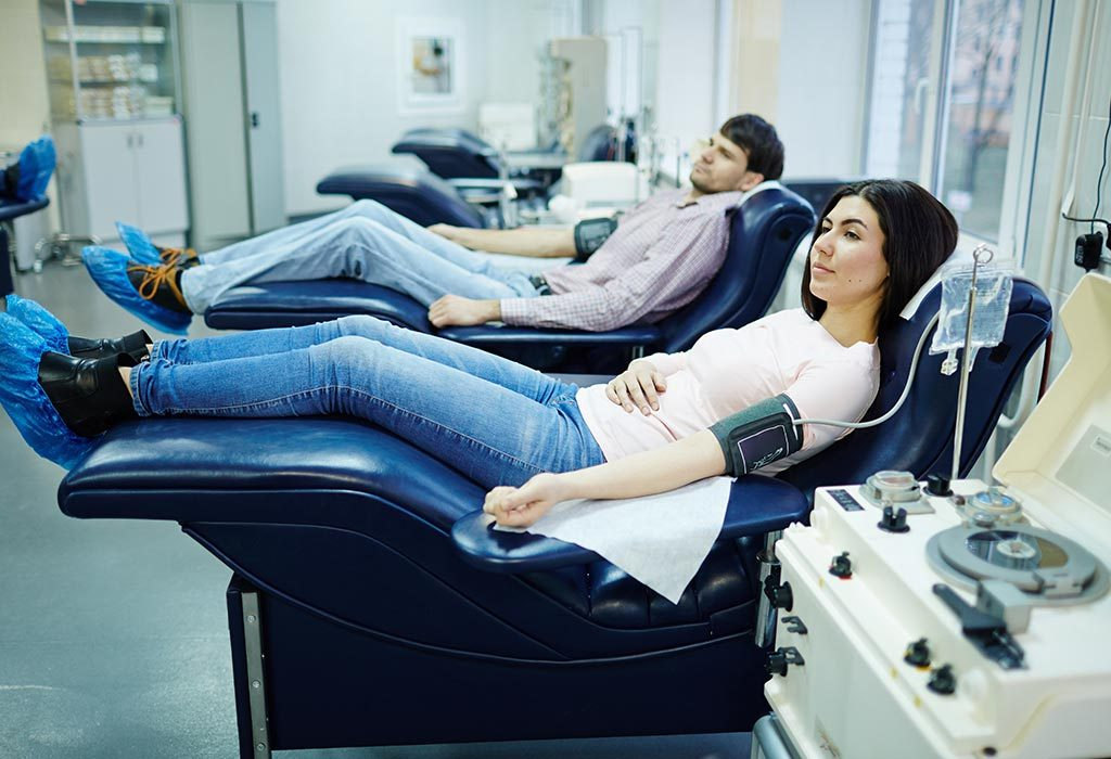 DONATING BLOOD IN PREGNANCY