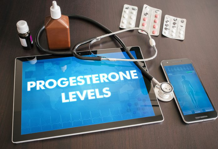 Progesterone levels to get pregnant