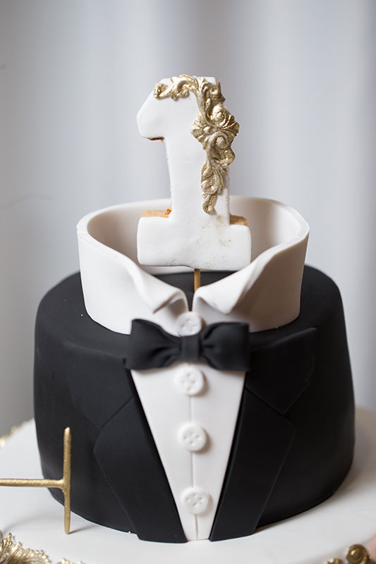 A Suit and Tie Cake