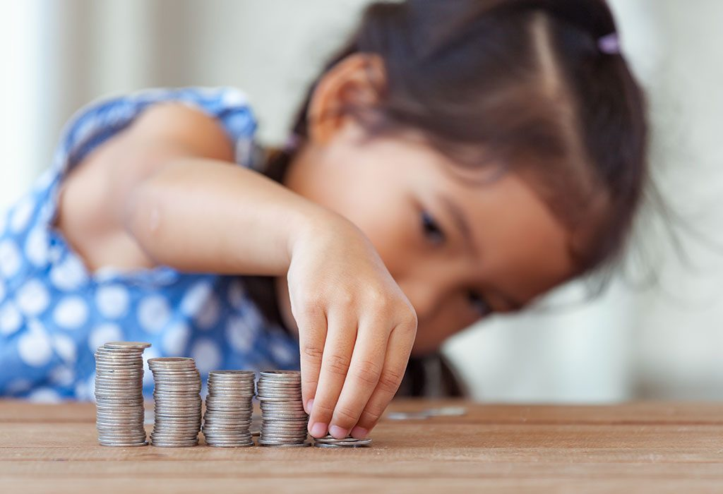 KID WITH COINS
