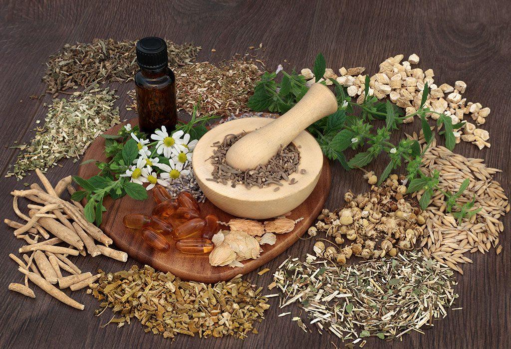 Making natural herbal medicines