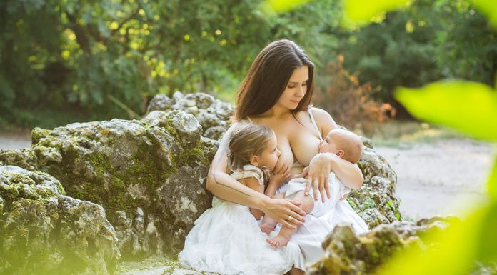 Tandem Breastfeeding - Nursing Your Newborn Along with Toddler