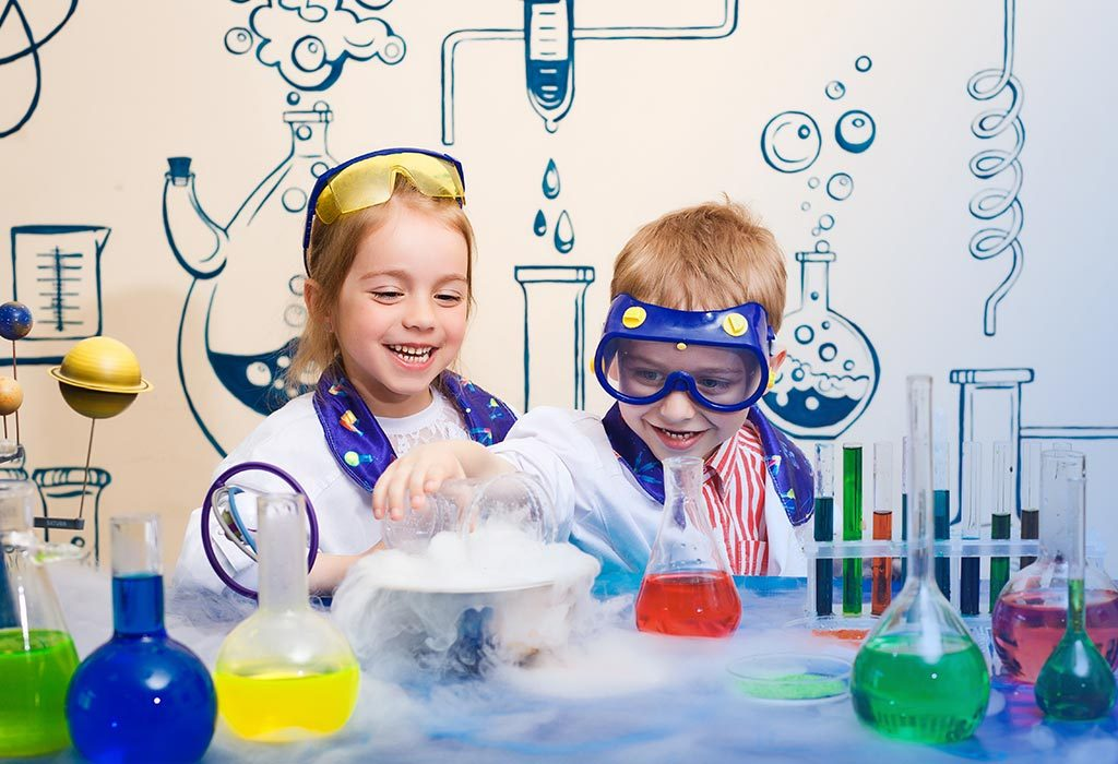 KIDS' CHEMISTRY SET