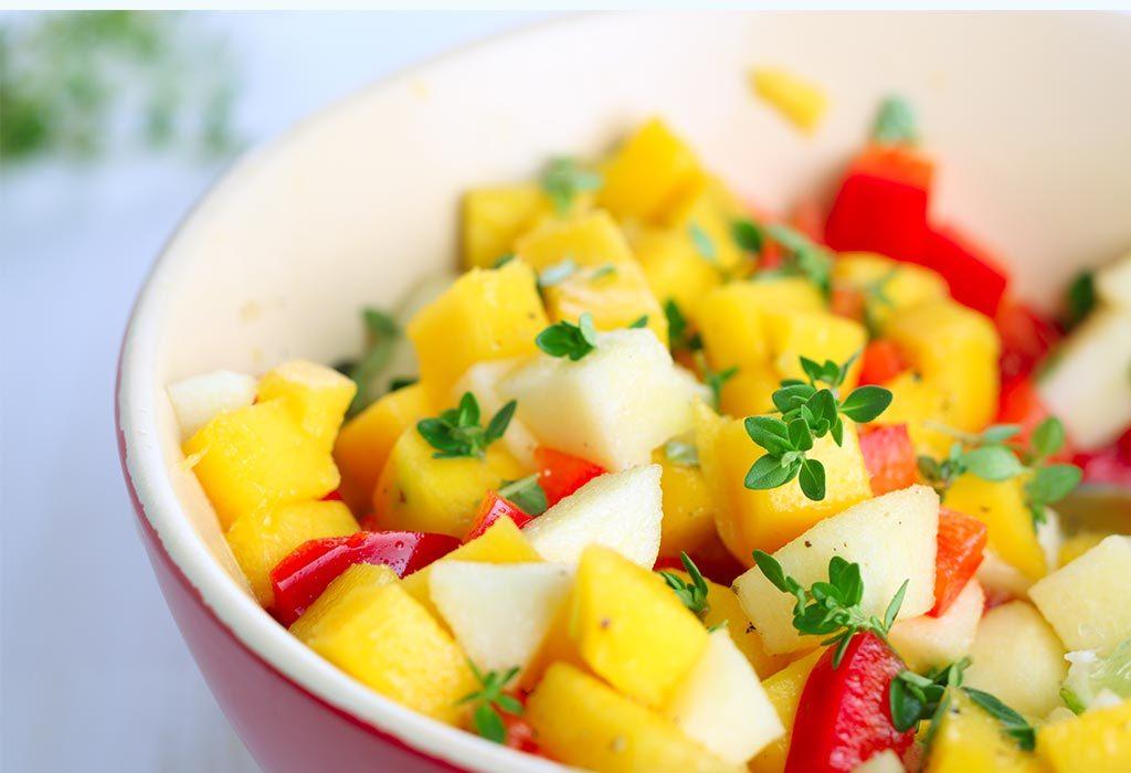 Sumptuous Mango Salad