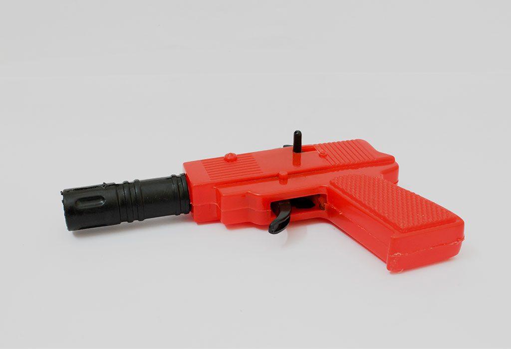 Fireman Themed Water Gun For Holi
