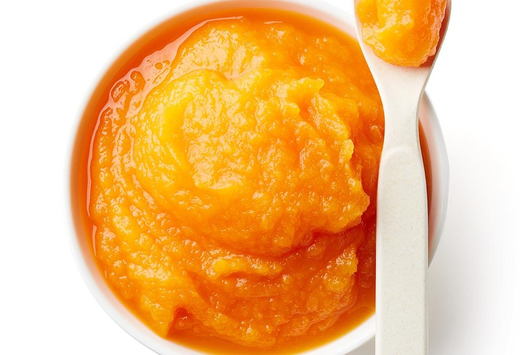 Apple papaya puree