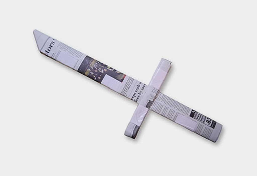 Newspaper Sword