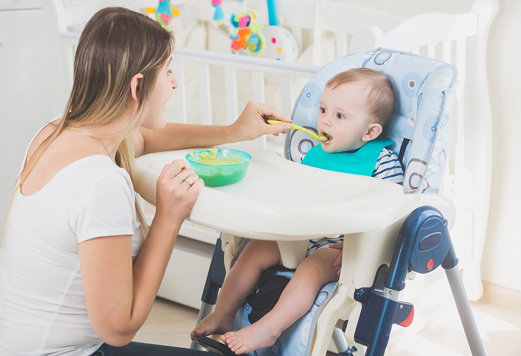 Baby Eating Dalia