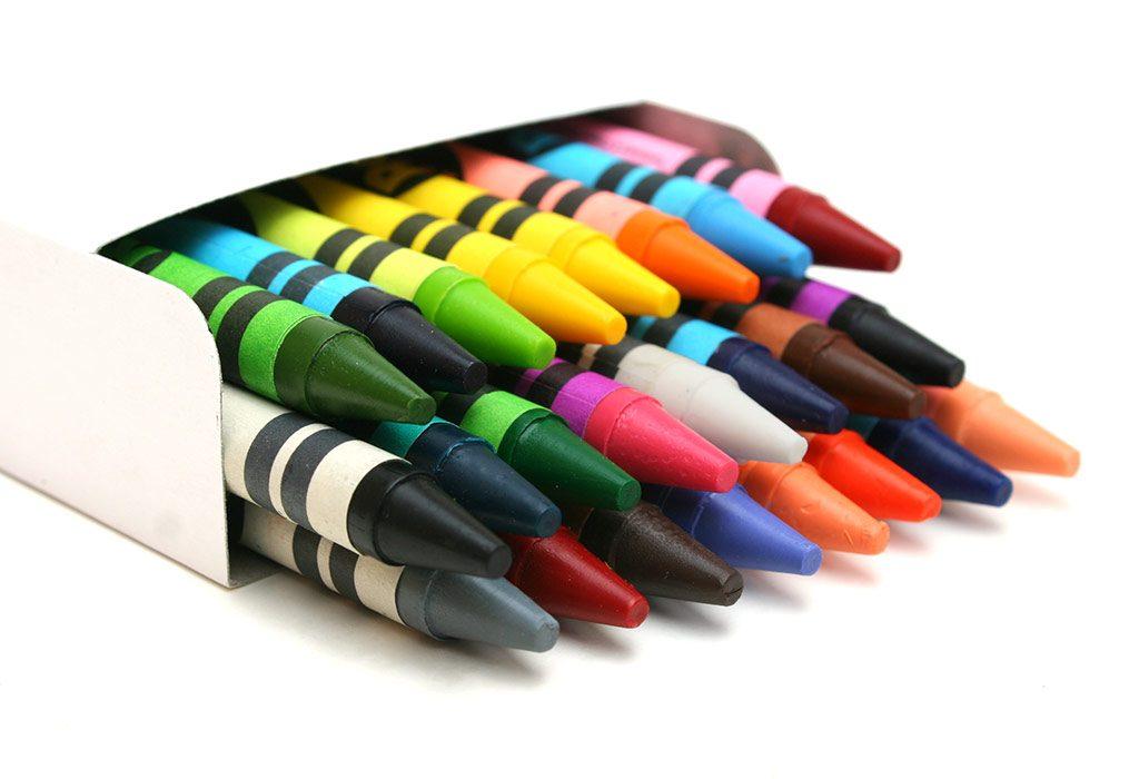 Crayons box