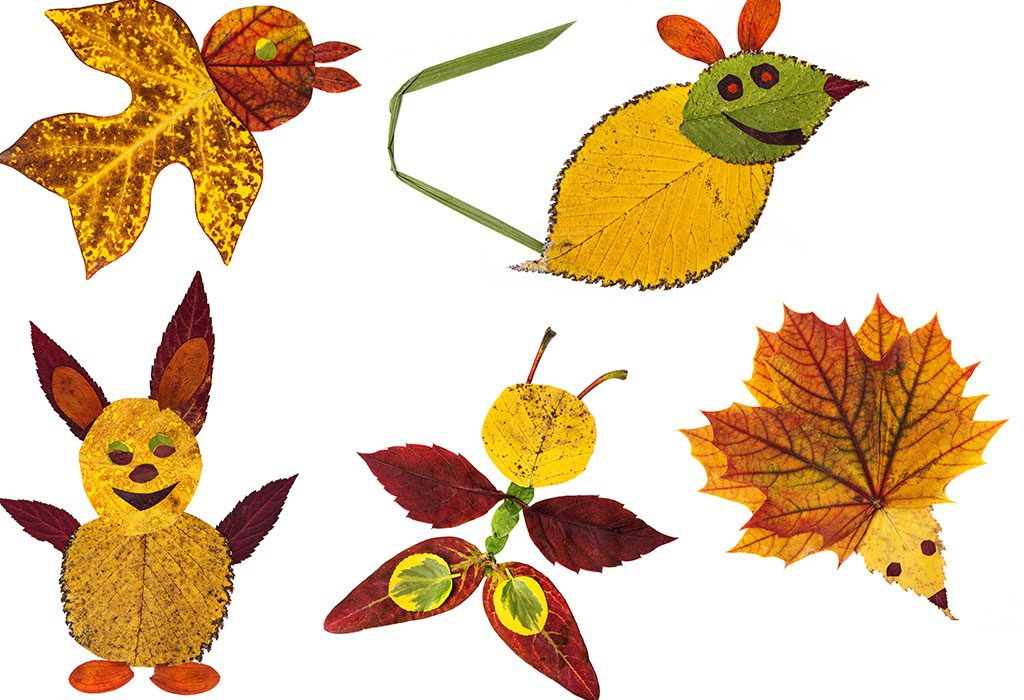Animals with leaves
